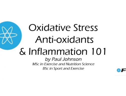 Oxidative Stress, anti-oxidants and Inflammation 101